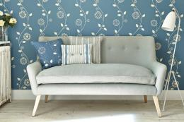 Gypsy Garland UK-made printed wallpaper from Vanessa Arbuthnott can be recycled as paper. £52 per 10m roll. www.vanessaarbuthnott.co.uk