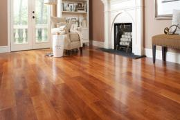 Vinyl flooring comes in myriad colours, patterns and textures and manufacturers have become very good at making their 'wood' look very realistic