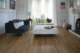New distressed engineered wood floor from The Natural Wood Floor Company. From £52m2. www.naturalwoodfloor.co.uk
