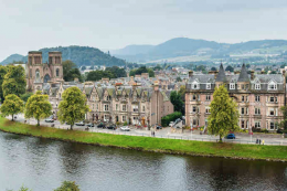 Inverness is another beautiful riverside city