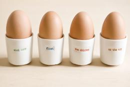 Egg cup set by Keith Brymer Jones, £11.95 til Easter Monday at Rooi.com