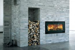 Danish Hwam inset stove, 4.5kW, 80% efficiency, £2,436 at www.euroheat.co.uk