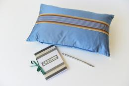 My Billet Doux handmade silk cushions have a secret compartment for a notebook and pen, from £185
