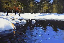Snowfall by Tony Allain