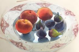 Figs & Peaches for Lunch by Felicity House