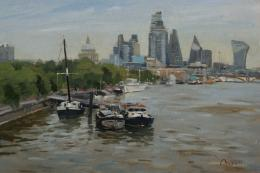 The City from Waterloo Bridge, Benjamin Mowll