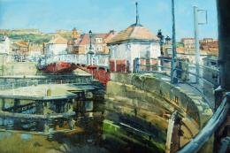 Bridge House, Whitby by Gillian Roberts