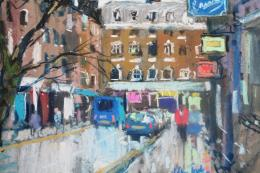 A West End Back Street by John Tookey
