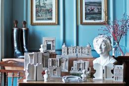 Celebrating The Georgians. Small plaster figures and architectural gems modelled in Bath by The Modern Souvenir Company, www.modernsouvenir.com