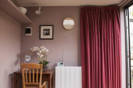 Second hand curtains are a super eco option and they will be far less expensive than buying new. This lined pink velvet set of curtains cost just £20 on Ebay!