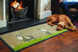 Deer runner. Use by the fire ..your dog will love you for it...