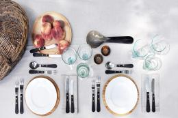 David Mellor's new Marylebone store is showing a special table setting