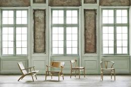 Chairs by long established fine furniture brand Carl Hansen & Son