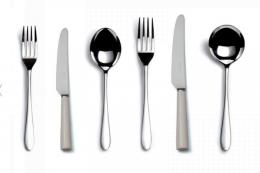 This stainless steel UK-made cutlery is fantastic. It's Pride by David Mellor, designed in 1953. Lovely to use, timelessly elegant, a six piece set is in the sale at £87.20. www.davidmellordesign.com