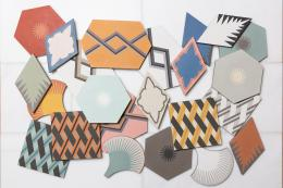 The Jigsaw collection of encaustic tiles for Ca'Pietra