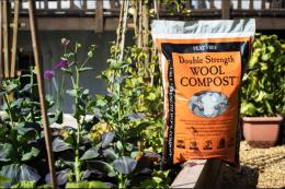 Dalefoot Composts are made from Lake District The wool and bracken. Peat free, super eco. www.dalefootcomposts.co.uk