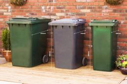 Check the size of your bin before ordering an enclosure