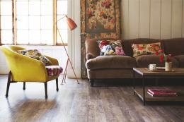 Wood look vinyl from Amtico's Signature collection. £70 m2. www.amtico.com