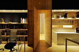 Architect Inaki Aspiazu used Egoin panels to refurbish his studio (budget around 35,000 euros)