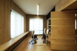 Inaki Aspiazu's studio is a beautiful wood construction
