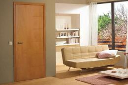 German HGM Massiv doors in solid beech have an appealing presence. www.doorsets.org.uk