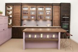 If you have the space, ask for a designated recycling/compost section. Mauve kitchen by Woodstock Furniture