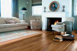 PEFC-cert Castello Noble Walnut engineered boards, £96m2, www.quick-step.co.uk