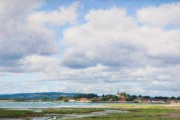 Bosham, West Sussex by Peter Symonds. Rountree Tryon dealer