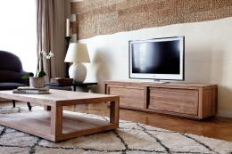 TV unit in FSC-certified teak from www.4living.co.uk £1,269