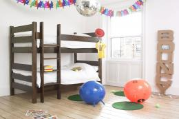 FSC-certified sturdy wooden bunk beds from Warren Evans, £595, mattresses excluded. www.warrenevans.com