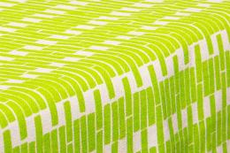 Limeade printed organic cotton canvas fabric from Warehouse Offset. £18.30 per metre