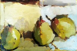February Pears by Michael Weller