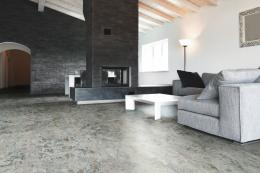 Wicanders' Art Comfort Slate Plata cork flooring, from £40m2. www.wicanders.com