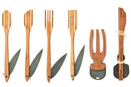 Earthchef bamboo utensils