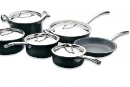 Set of Earthchef by BergHOFF ceramic coated non-stick pans