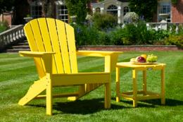 Tough colourful  POLYWOOD® furniture from the US, now available in the UK. www. poly-wood.co.uk