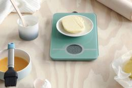 Brabantia makes things for cooks too, such as digital scales