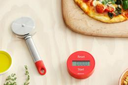 Brabantia's timer and many other products are made from polypropylene, one of the most recyclable plastics