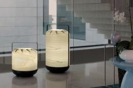 Chou lights by Yonoh. Choose from LEDs or low energy bulbs as the light source