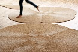 Magma rugs, hand made in Murcia using local esparto grasses. Around £590, www.martinazua.com