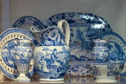 Blue and white china from Sue Norman