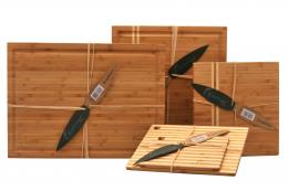Earthchef by BergHOFF bamboo chopping boards. www.berghoffworldwide.com