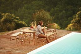 Windsor classic contemporary teak collection from Bristol-based Gloster, www.gloster.com
