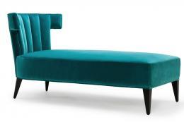 Modern Isabella chaise by Wiltshire-based Stuart Scott Associates, from £2,520 www.stuartscott.co.uk
