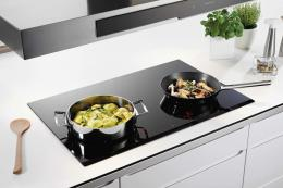 Choose an induction hob over gas or electric as they heat only the pan. Electrolux EHD8740FOK InfinitePure Induction hob, £899