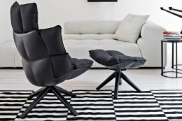 Husk chair from B&B Italia has a shell made from recycled plastic. Available at Barker & Stonehouse. POA