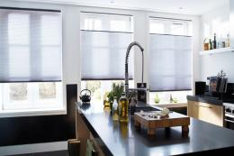 Duette blinds are great for minimalist interiors. Prices from around £100 per 40x40cm of blind