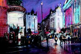 Lights Piccadilly by Roger Dellar, £1,400