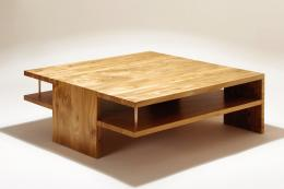 Low Slab stack pippy elm and bronze hand-made coffee table by the brilliant Matthew Burt, £7,000. www.matthewburt.com