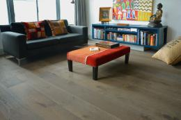 Smoky mountain oak engineered boards from Romanian government controlled forests, £82m2 from The Natural Wood Floor Company. www.naturalwoodfloor.co.uk